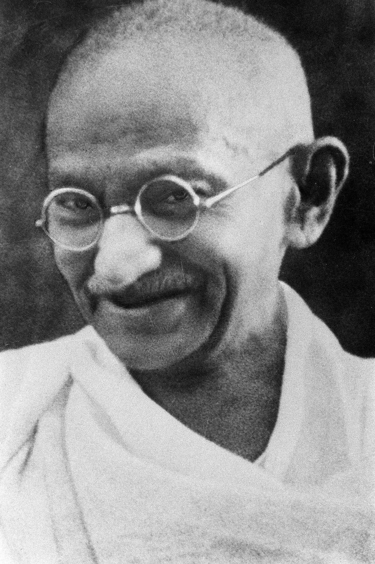 Foto von Mahatma Gandhi